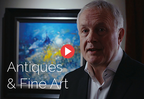 Latest video - Marcus adams talks about antiques and fine art